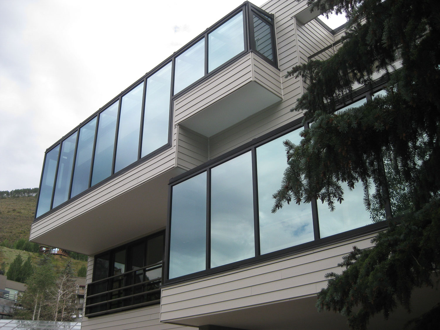 Architectural Greenhouse Insulated Glass and MultiWall Polycarbonate Greenhouse Residential