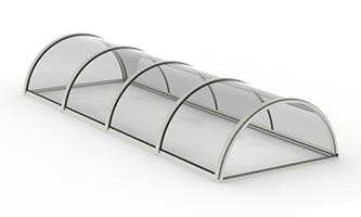 Architectural Structural – Half Round Barrel Vault Skylight_ C, C copy