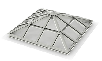 Architectural Structural – Pyramid Skylight_ C, C (4×2 – Jacks & Purlins)