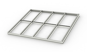 Architectural Structural – Single Slope Skylight_ C, C (4×2)