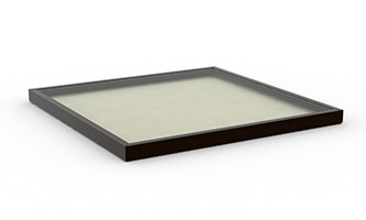 Curb Mount Fixed Fixed Flat Glass Skylight_4x4, D, E (4848)