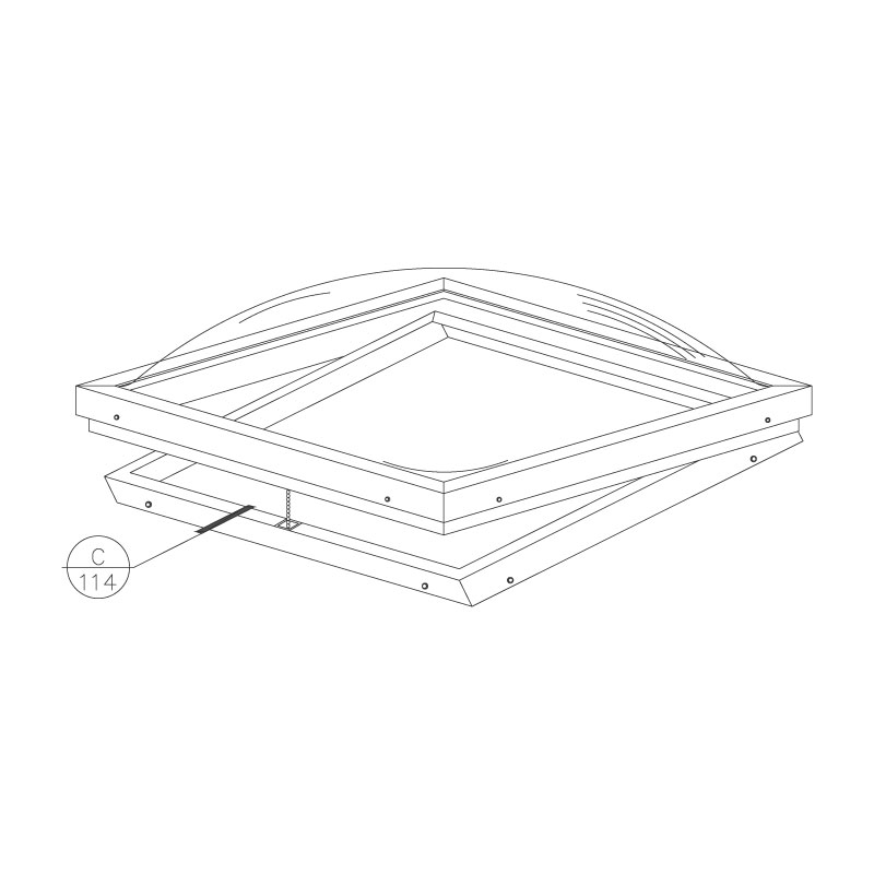 curb-mount-vented-dome-skylight