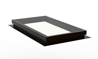 Self Flashing (Deck Mount) – Fixed Flat Glass Skylight