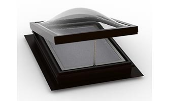 Self Flashing (Deck Mount) – Vented Dome Skylight