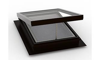 Self Flashing (Deck Mount) – Vented Flat Glass Skylight