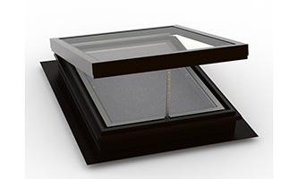 Self Flashing (Deck Mount) – Vented Flat Glass Skylight