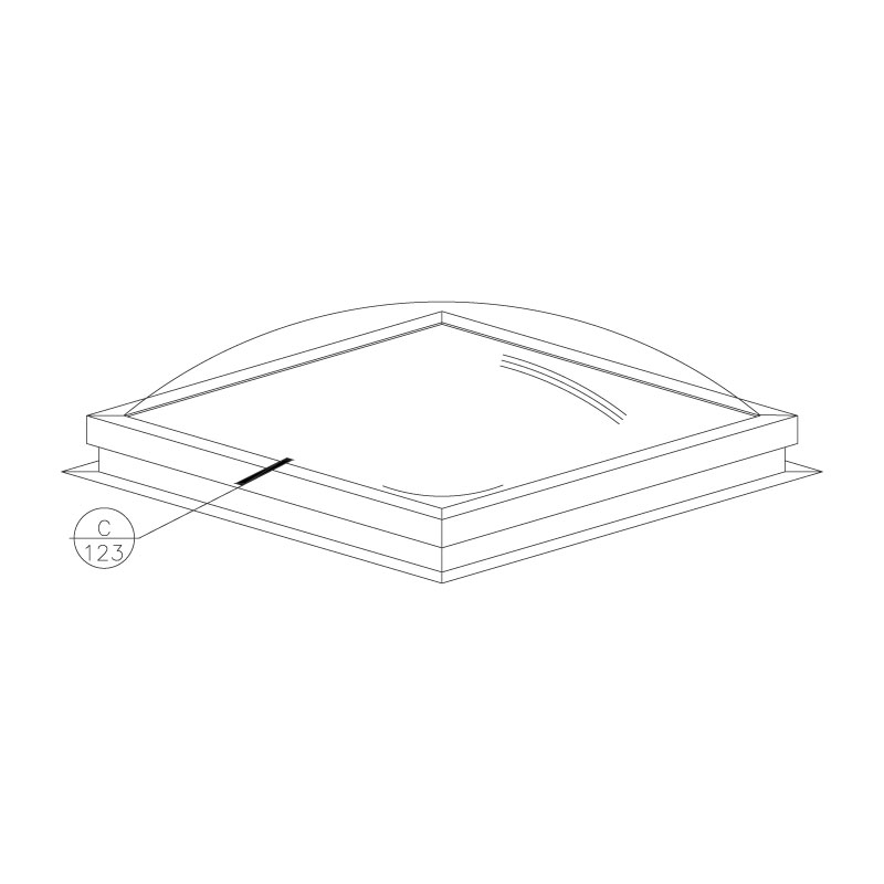 self-flashing-fixed-dome-skylight