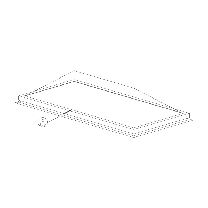 self-flashing-formed-ridge-skylight