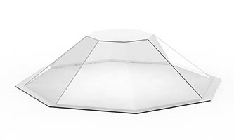 Skylight Replacement Domes – Custom Shapes