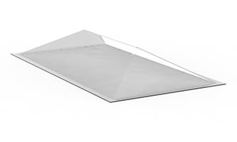 Skylight Replacement Domes – Formed Ridge Replacement